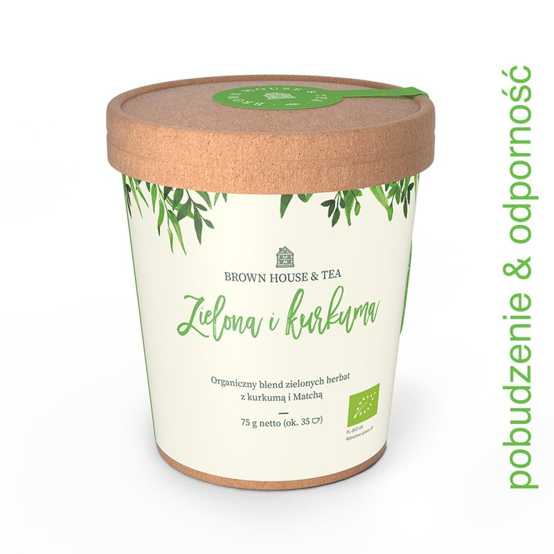 organiczna herbata Home ZIELONA IKURK